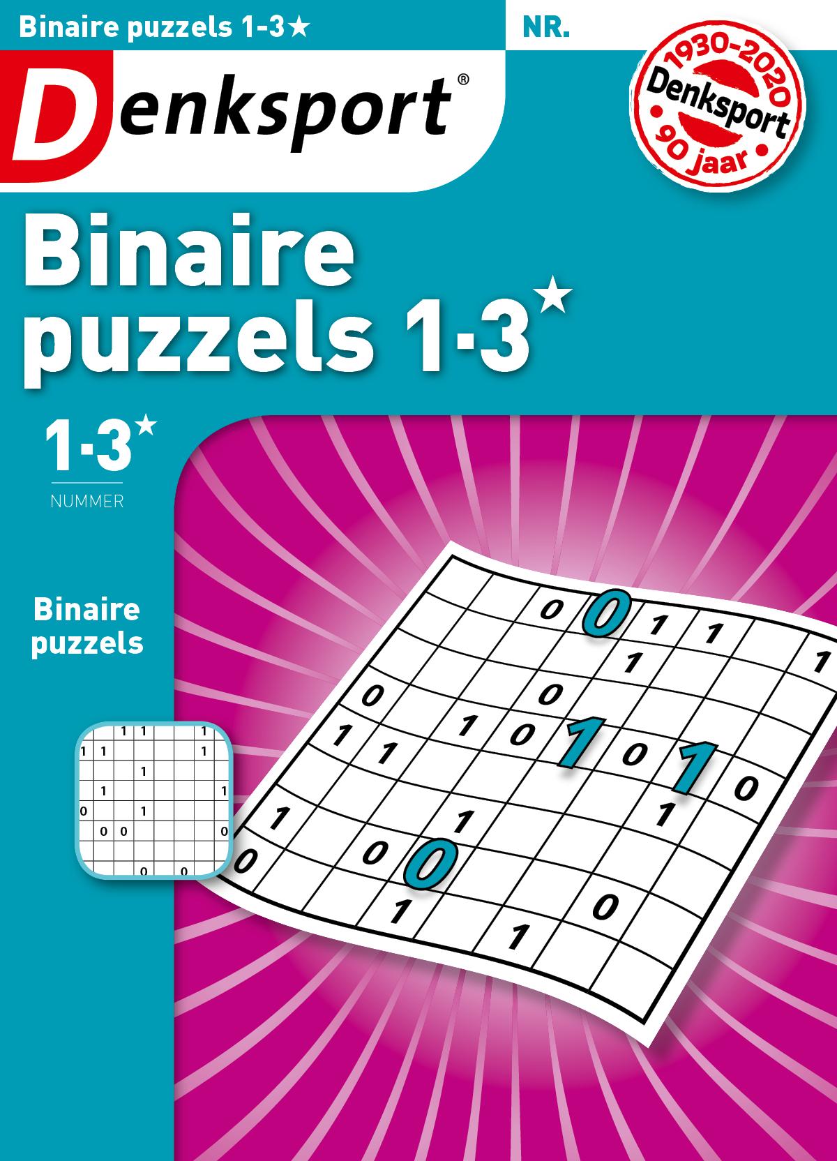 Binaire puzzels 1-3* Abonnement