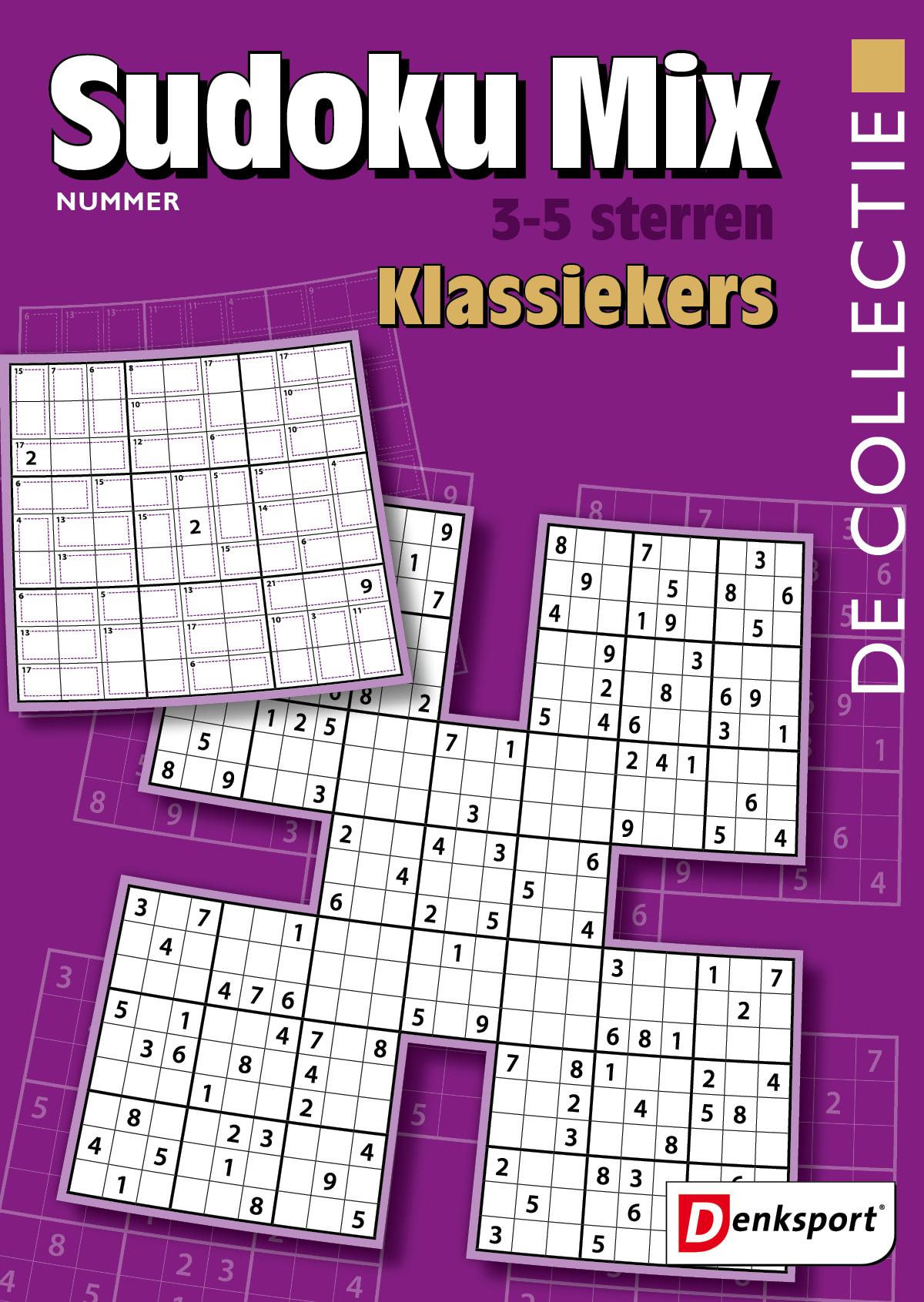 Afbeelding van De Collectie - Sudoku mix 3-5* - Editie 15