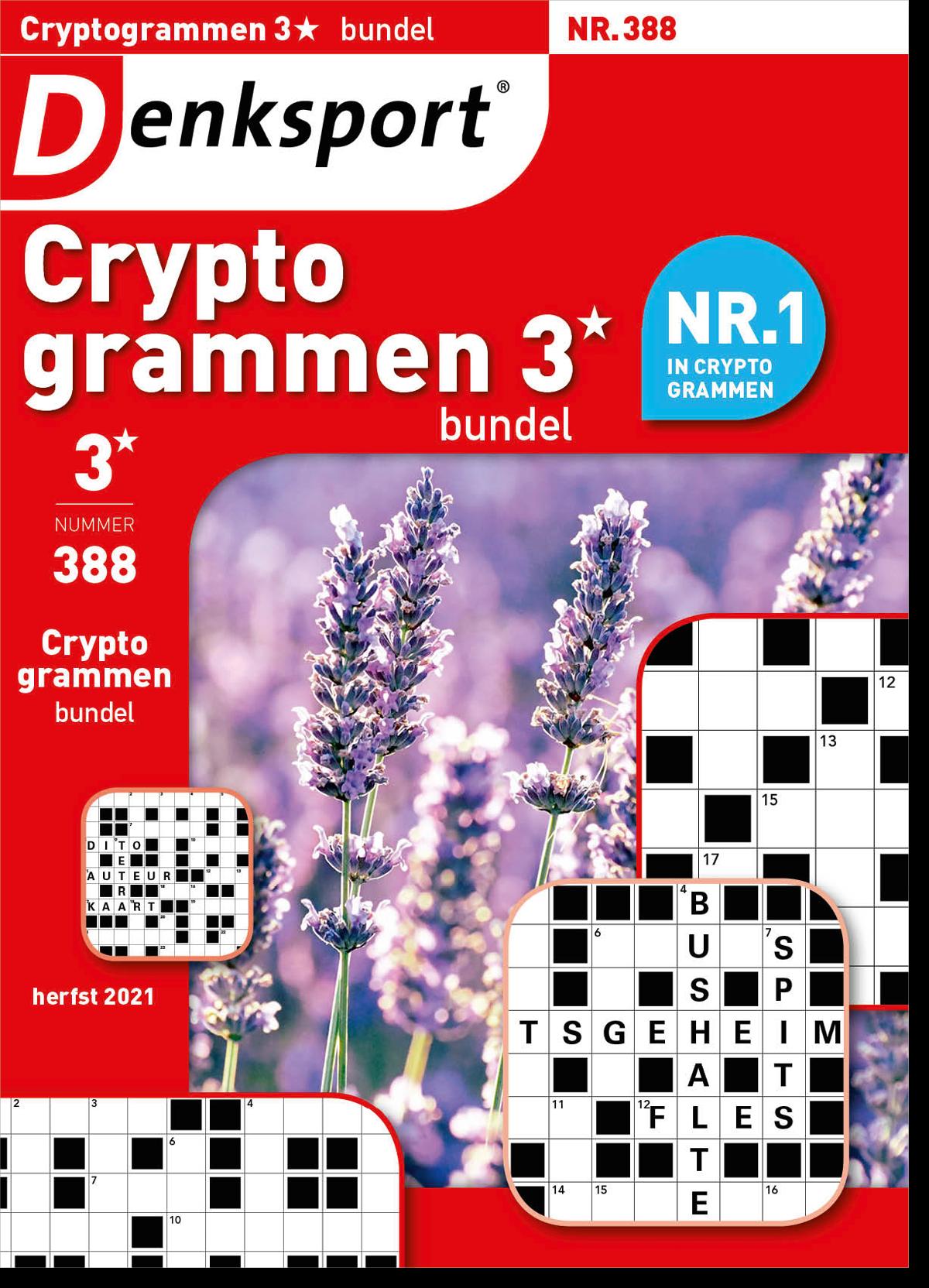 Afbeelding van Cryptogrammen 3* bundel - Editie 388