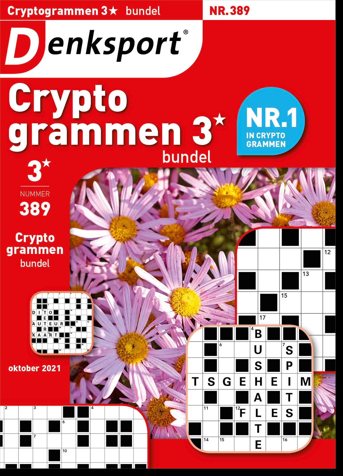 Afbeelding van Cryptogrammen 3* bundel - Editie 389