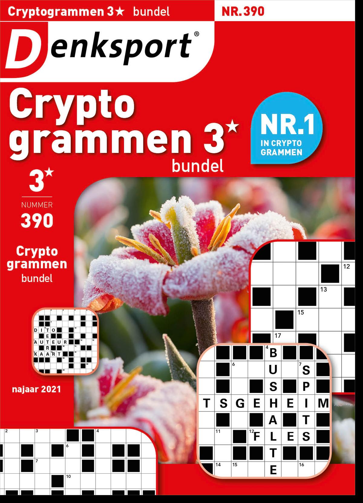 Afbeelding van Cryptogrammen 3* bundel - Editie 390