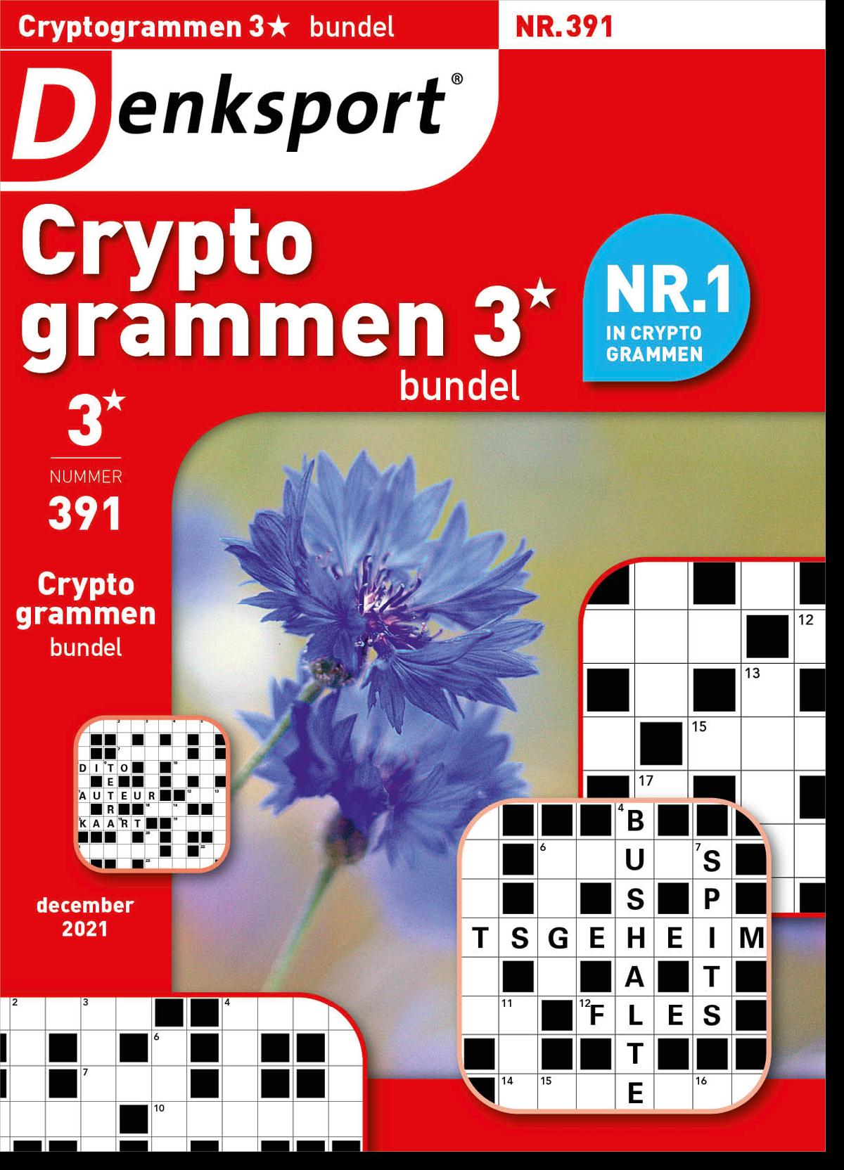 Afbeelding van Cryptogrammen 3* bundel - Editie 391