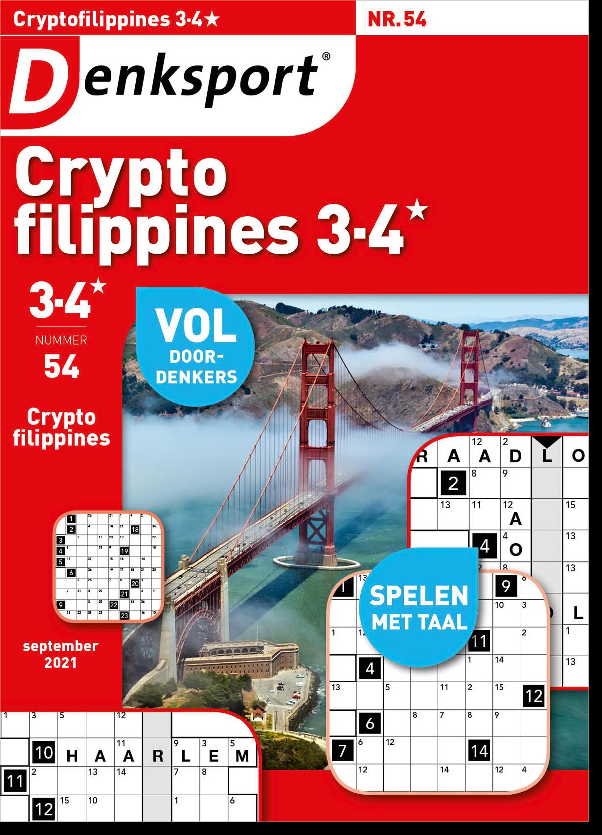Afbeelding van Cryptofillipines 3-4* - Editie 54