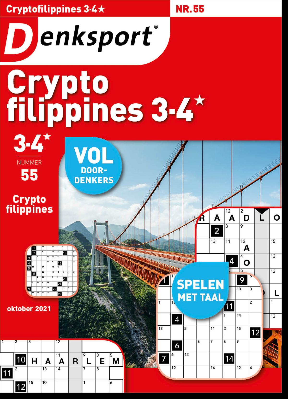 Afbeelding van Cryptofillipines 3-4* - Editie 55