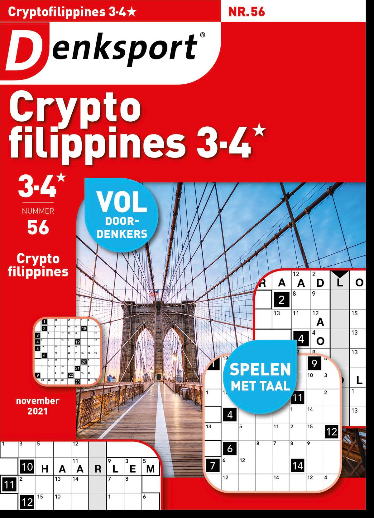 Afbeelding van Cryptofillipines 3-4* - Editie 56