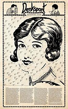 Denksport 90 jaar Poster