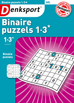 Binaire puzzels 1-3* - Editie 143