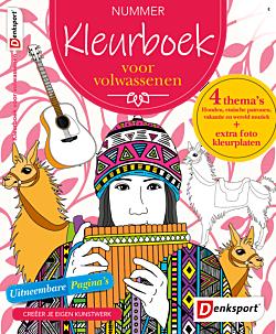 Kleurboek voor volwassenen - Abonnement