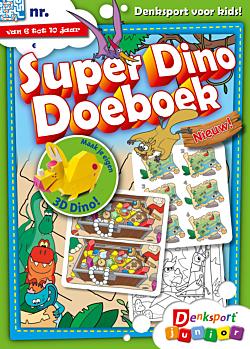 Super dino doeboek - Editie 5