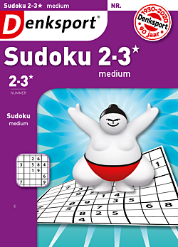 Sudoku 2-3* medium - Abonnement