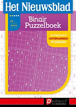 Het Nieuwsblad Binair Puzzelboek - Editie 29