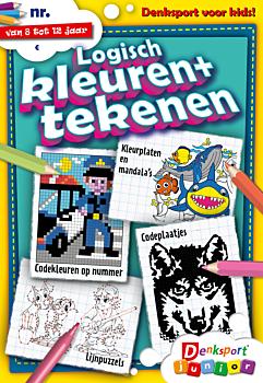 Logisch kleuren en tekenen Junior - Abonnement