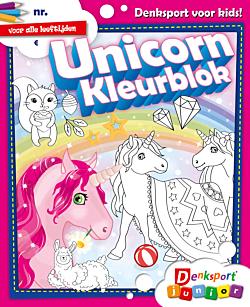 Unicorn Kleurblok - Editie 9