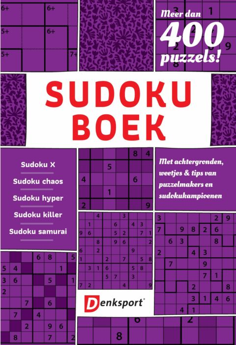Afbeelding van Denksport Sudoku Puzzelboek