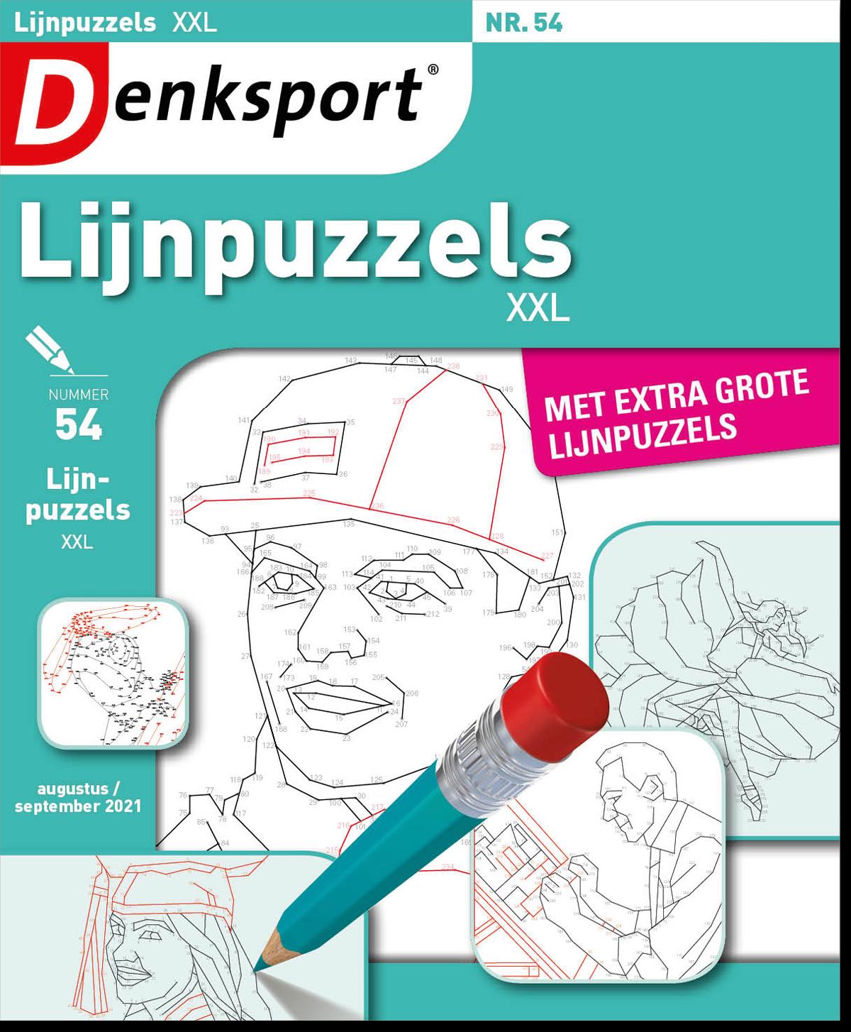 Afbeelding van Lijnpuzzels XXL - Editie 54