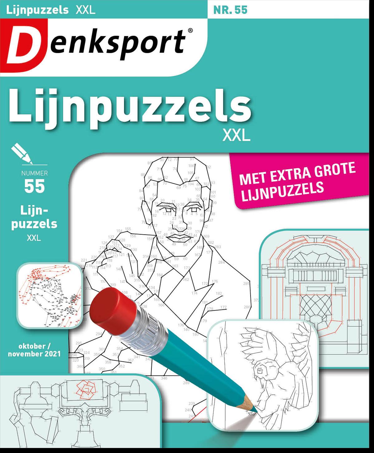 Afbeelding van Lijnpuzzels XXL - Editie 55