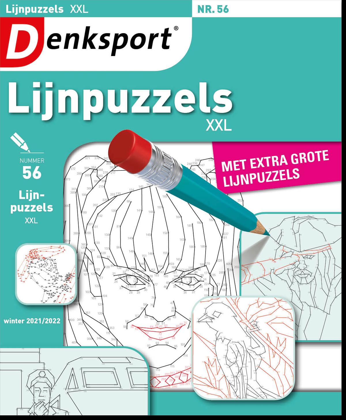 Afbeelding van Lijnpuzzels XXL - Editie 56