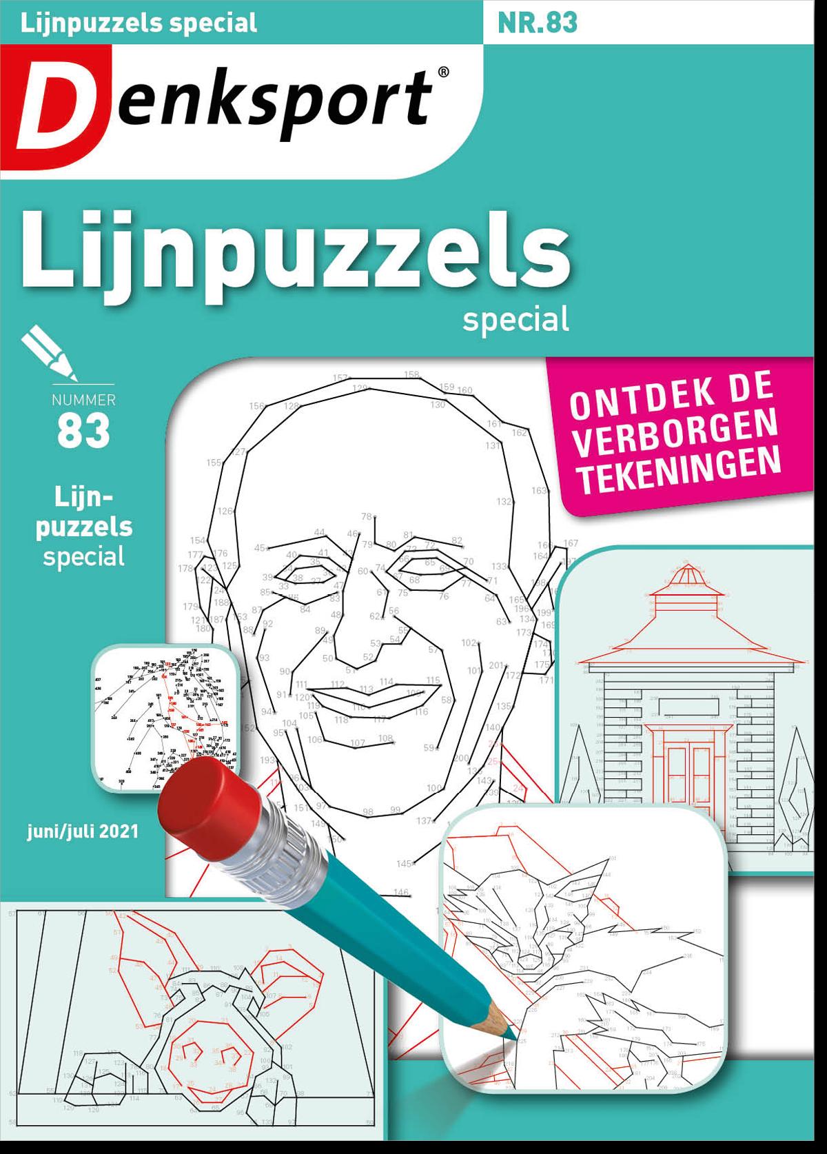 Afbeelding van Lijnpuzzels special - Editie 83