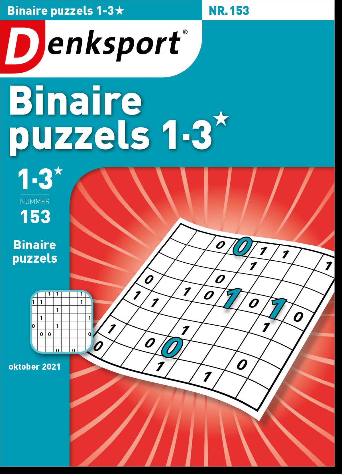 Afbeelding van Binaire puzzels 1-3* - Editie 153