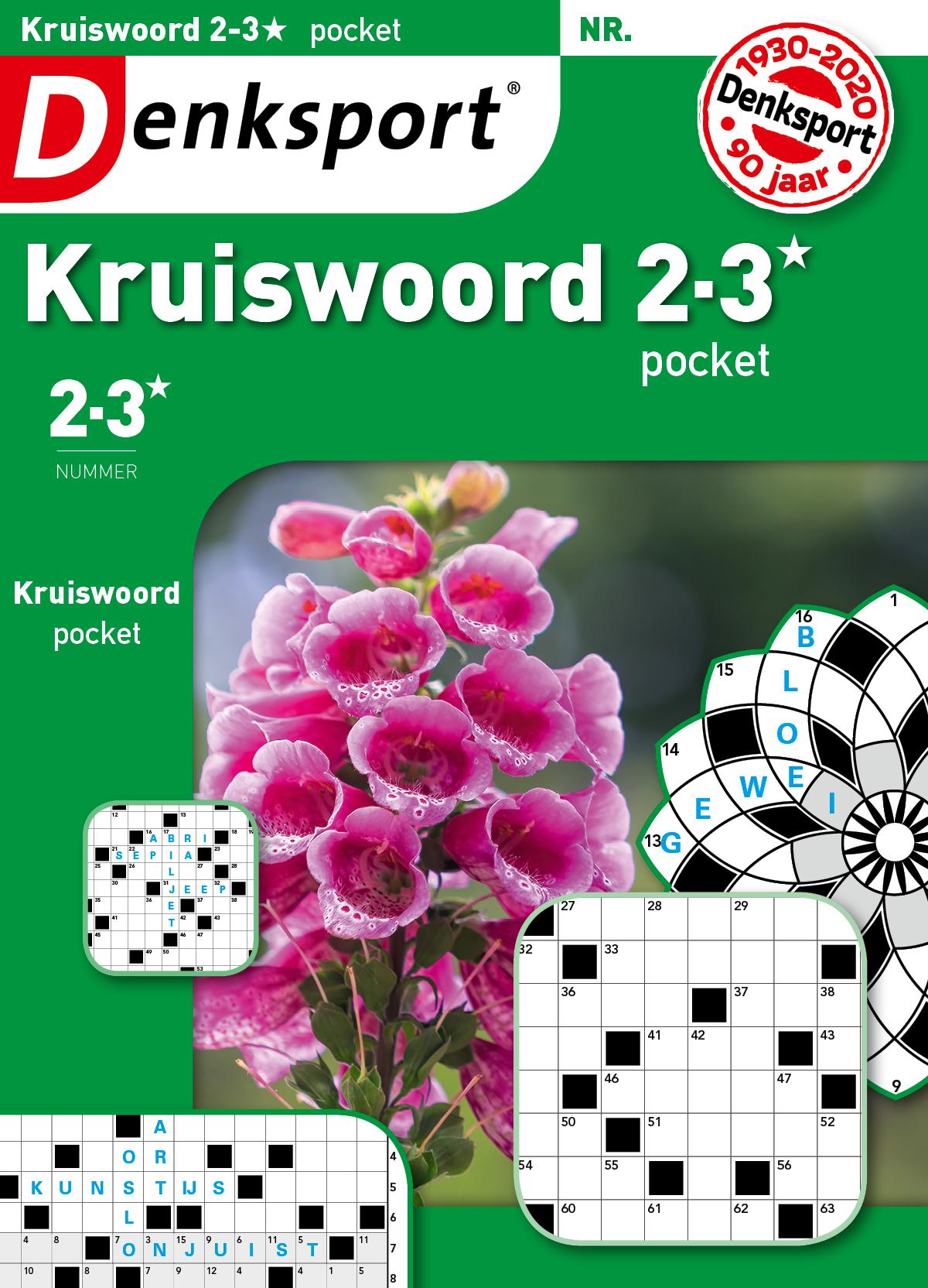 Kruiswoord 2-3* pocket Abonnement