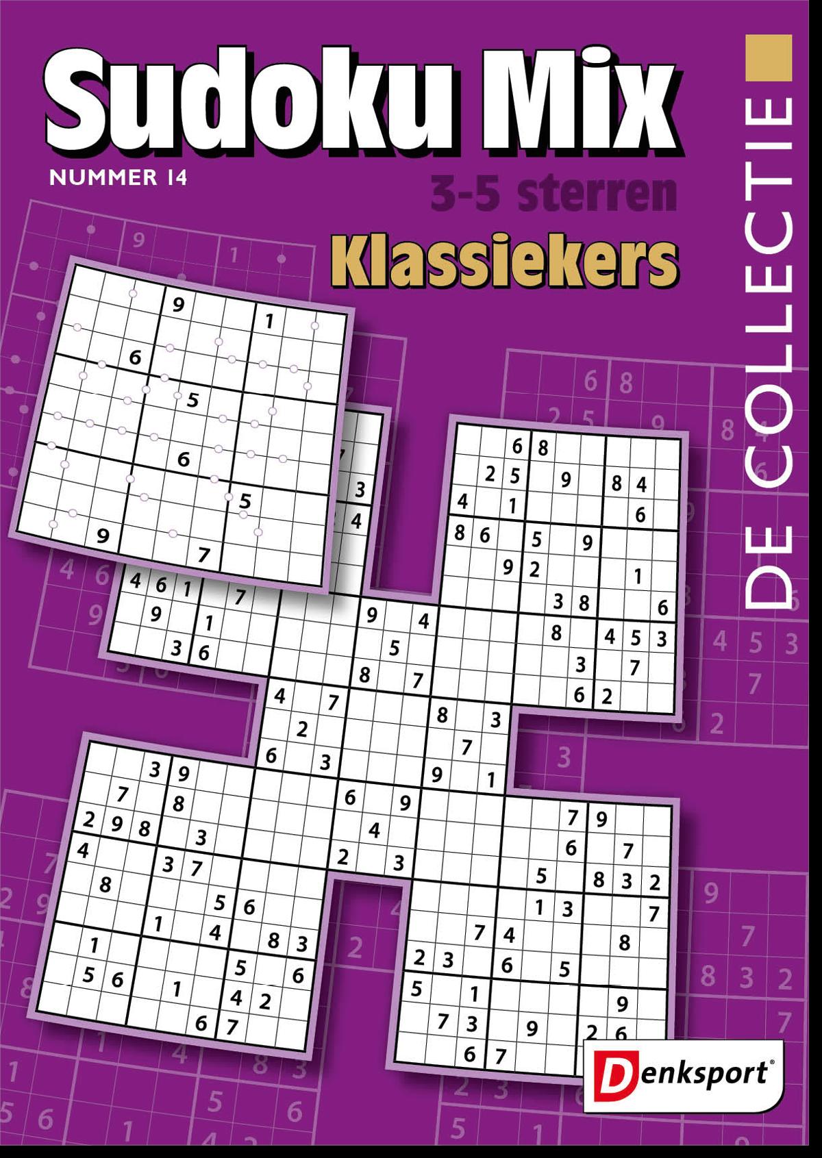 Afbeelding van De Collectie - Sudoku mix 3-5* - Editie 14