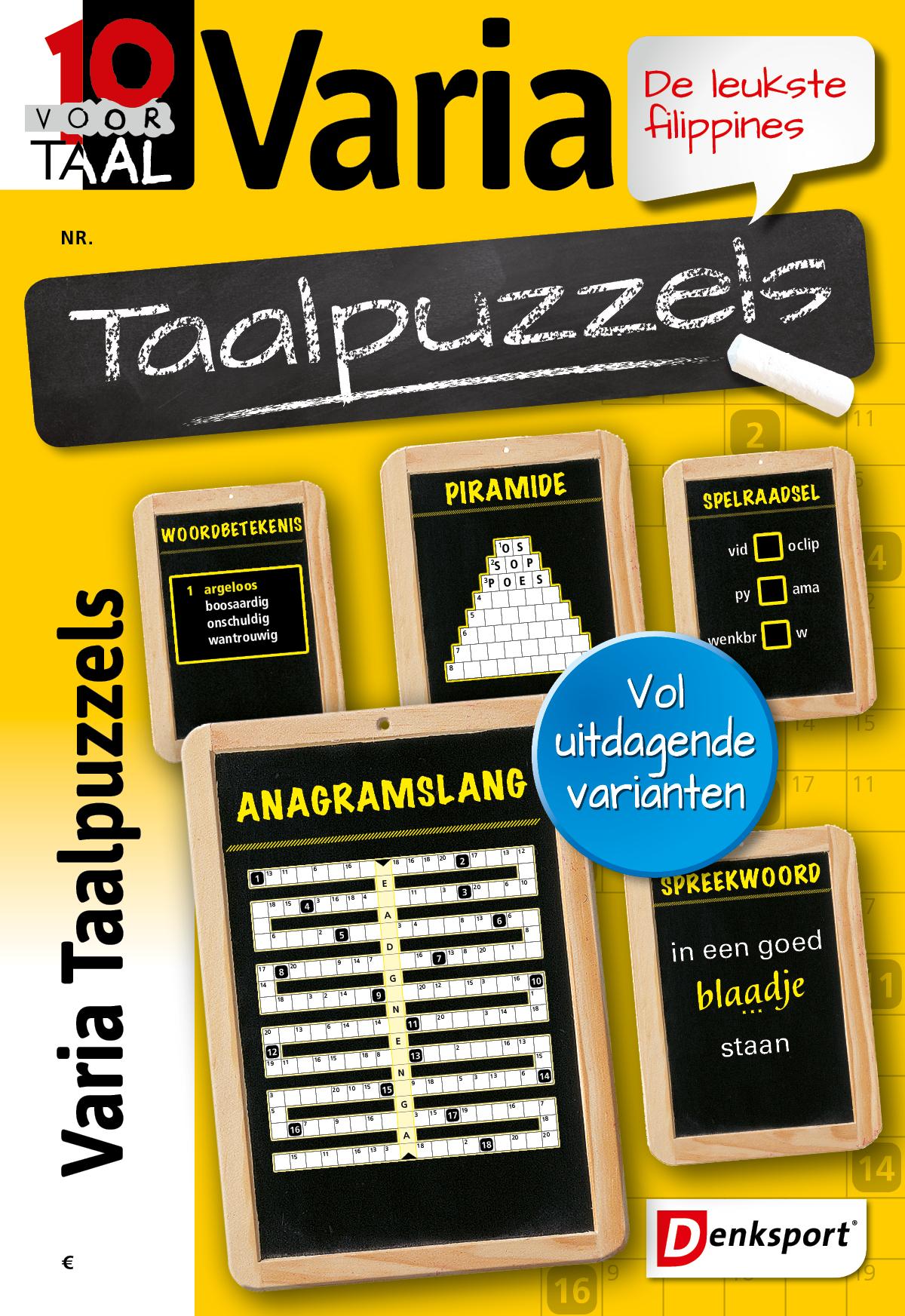 Afbeelding van 10 voor Taal - Varia taalpuzzels - Editie 219
