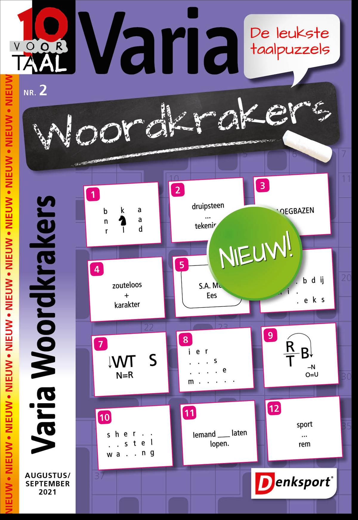 Afbeelding van 10 voor Taal Woordkrakers - Editie 2