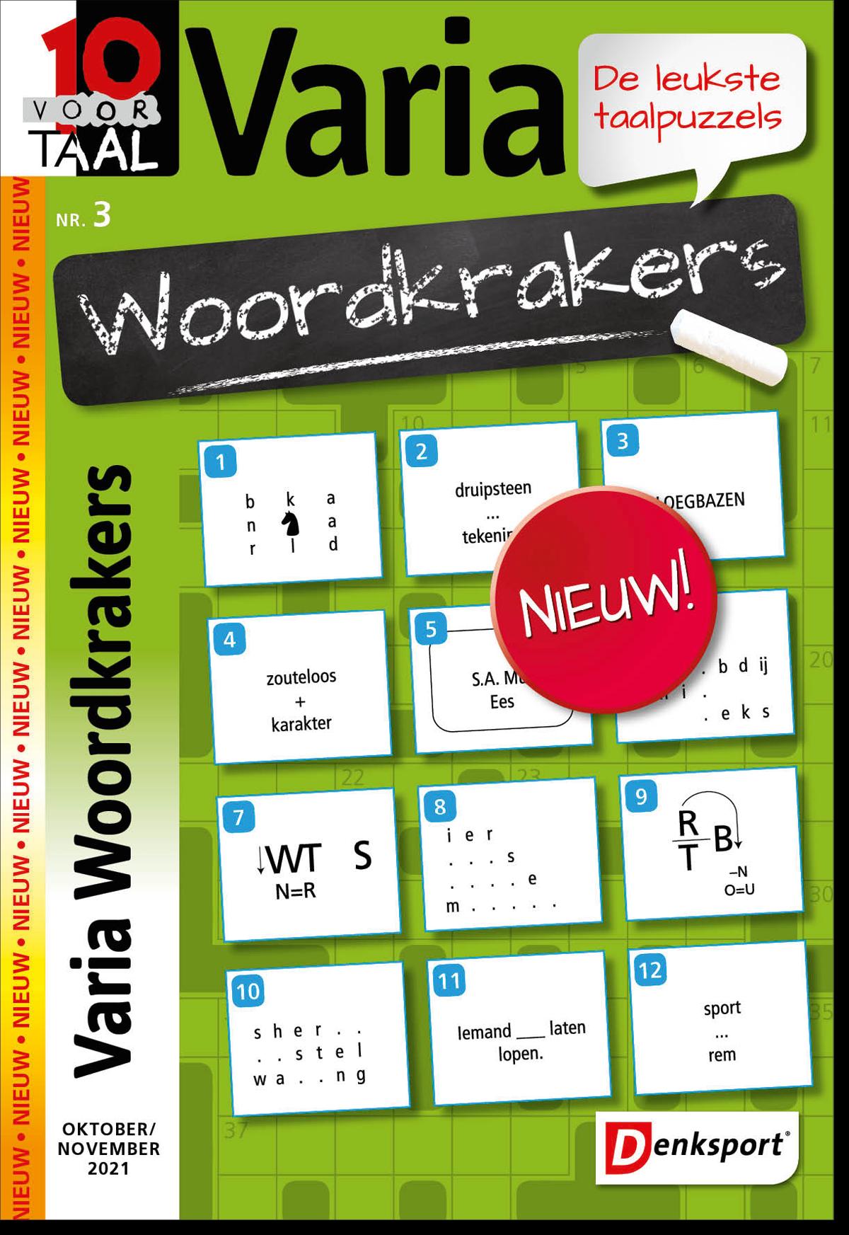 Afbeelding van 10 voor Taal Woordkrakers - Editie 3