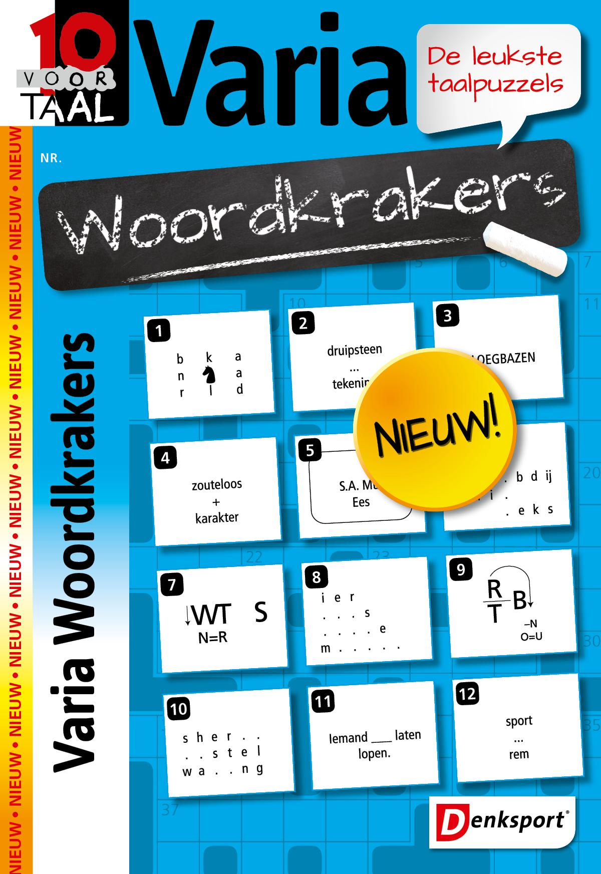 Afbeelding van 10 voor Taal Woordkrakers - Editie 1