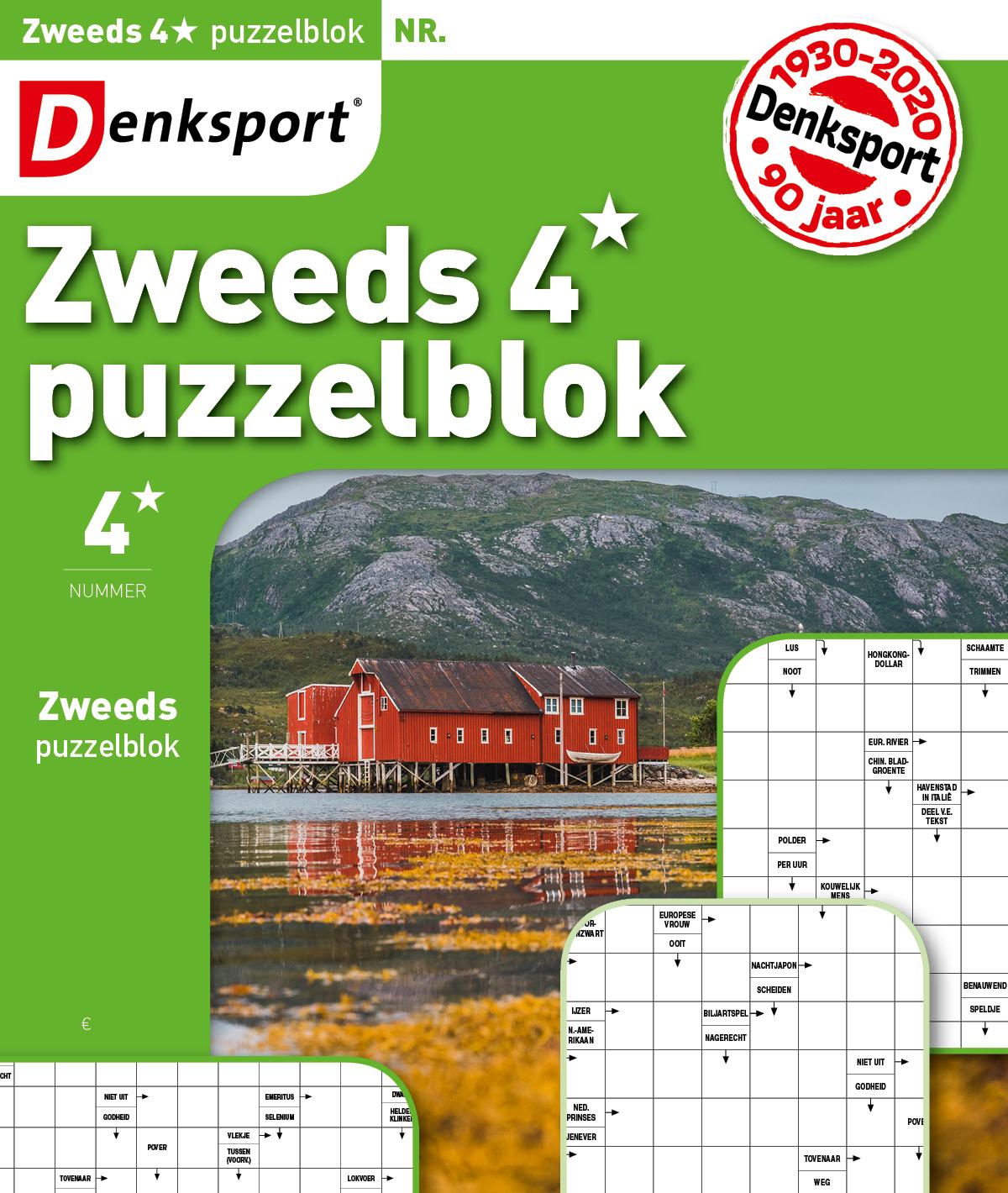 Zweeds 4* puzzelblok Abonnement