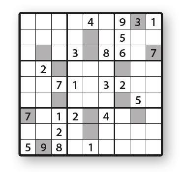 Sudoku 13579