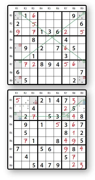 Sudoku wing