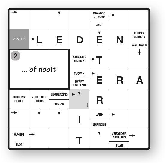 Zweedse puzzel 2