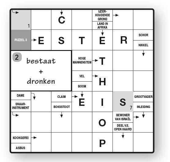 Zweedse puzzel 4